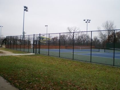 Tennis Courts at Paul A Schroeder park