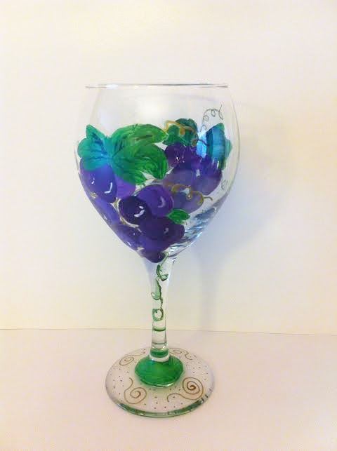 grape vines glass (1)