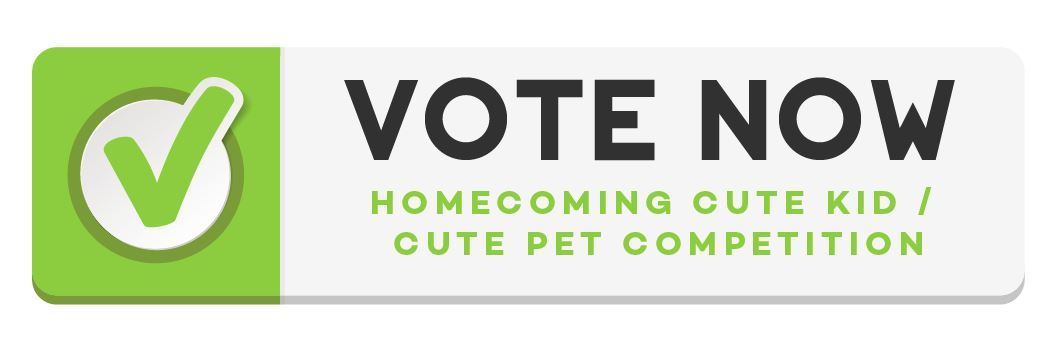 Cute Kid Cute Pet Voting Button