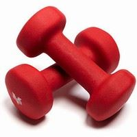 Red Hand Weights