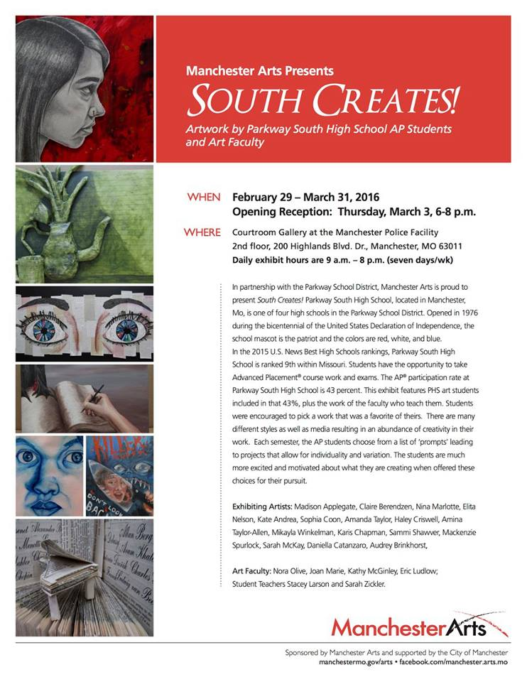 Call South Creates Flyer